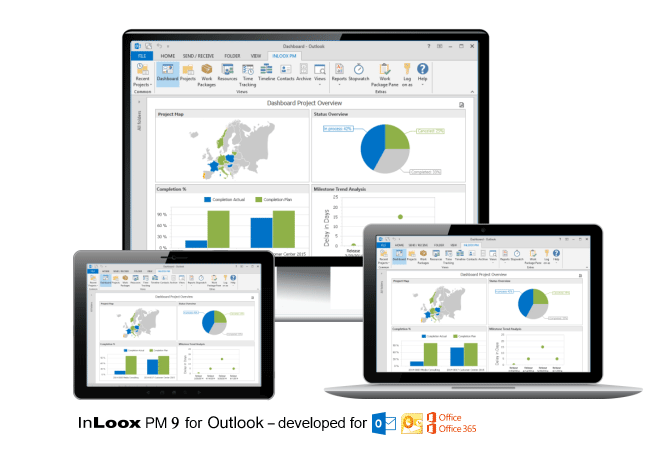 InLoox PM 9 for Outlook